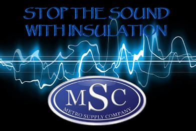 Stop the Sound with Insulation