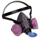 Respirators are used to prevent the inhalation of harmful materials or vapors into the lungs