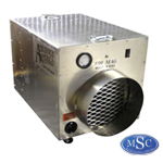 Negative Air Machines are used to create negative pressure to prevent fibers from escaping the contamination area.