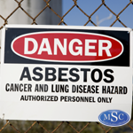 Asbestos Danger Signs, barrier tapes, and labels are used to warn others of the removal area along with marking bags with the proper asbestos labels